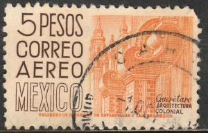 MEXICO C196, $5P 1950 Definitive wmk 279 Used. F-VF. (947)