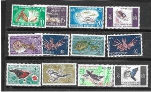 New Hebrides British 97-107 MNH C/Set