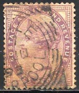 Great Britain 1881 Scott# 89 Used