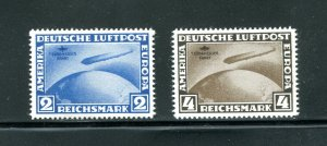 x310 - GERMANY - Reprints - 1930 ZEPPELIN Flight to South America. MNH