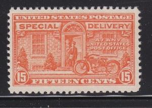 E13 VF-XF original gum lightly hinged great color scv $ 45 ! see pic !