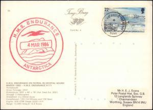 British Antarctic Territory #96, Antarctic Cachet and/or Cancel