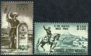 MEXICO 922, C260, Cent of 5 de Mayo Battle at Puebla MINT, NH. F-VF.