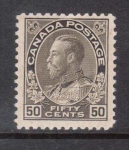 Canada #120i VF/NH **With Certificate**