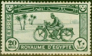 Egypt 1926 Express Letter 20m Deep Green SGE138 Good Mtd Mint