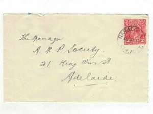 APH1457) Australia 1931 2d Red KGV Die III Small Cover