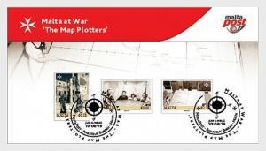 H01 Malta 2019 Malta At War - The Map Plotters 2019  Collectibles