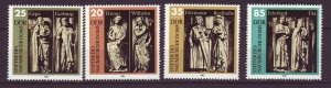 J24503 JLstamps 1983 germany DDR set mnh #2355-8 statues