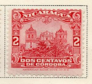 Nicaragua 1914-22 Early Issue Fine Mint Hinged 2c. 323627