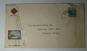 Brazil Sao Paolo TEC Used On Cover TB 1945 Charity Seal TB 30c Clemente Ferreira