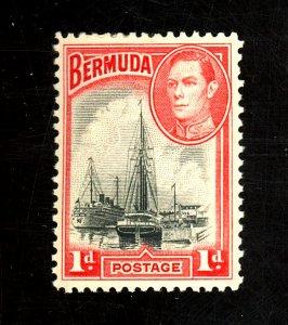 BERMUDA #118a MINT F-VF OG LH Cat $16