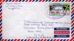 Jamaica, Airmail, Flags