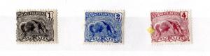 French Guiana 1904 1c - 4c Part Set Mint MH X4668