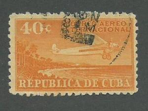 1931 Cuba Scott Catalog Number C9 Used