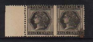 Prince Edward Island #15a VF Mint Pair