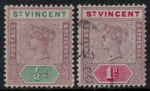 St. Vincent #62-3*/u  CV $4.70