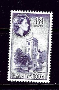 Barbados 244 MNH 1953 The Cathedral