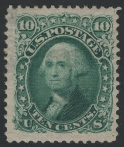 #106, Mint, Full OG, Tiny Flaws with PF Cert.,  SCV $2900 (GP2 12/16/19)