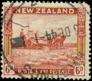 New Zealand Scott #193 Used