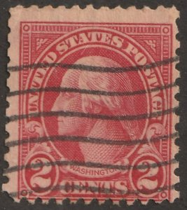 USA stamp, Scott# 634, used, hinged, single stamp, #x-62