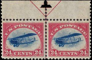 C3 Mint,OG,NH... Arrow Line Pair... SCV $260.00