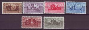J21551 Jlstamps 1930 italy various with hv,s of set mh #248,251, 253-6 design