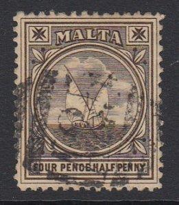 Malta Sc 15 (SG 32), used