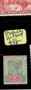 SEYCHELLES  (PP2108BB)  QV  2C  SG1    MOG