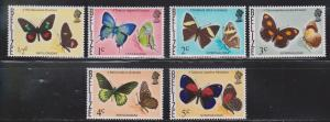 BELIZE Scott # 345-50 MNH - Butterflies