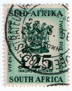 (I.B) South Africa Revenue : Duty Stamp £25