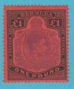 BERMUDA 128 MINT HINGED OG *  NO FAULTS VERY  FINE !