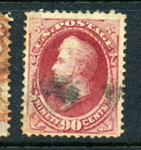 Scott #155 Perry  Used Stamp (Stock #155-3)