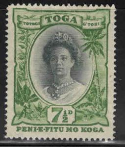 TONGA  Scott 60 MH* Queen Salote stamp