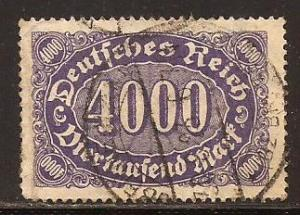 Germany  #  207  used