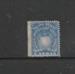 British East Africa 1890/5 8As Blue MM SG 12