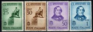 Italy #423-6 MNH CV $5.00 (X9683)