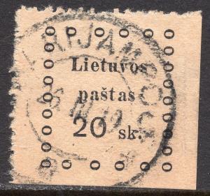 LITHUANIA SCOTT 15