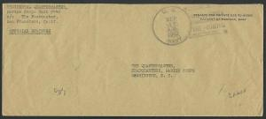 AMERICAN SAMOA 1942 cover : US NAVY / THE MARINES ARE COMING duplex........12431