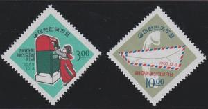 Korea 487-488 MNH (1965)
