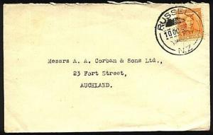 NEW ZEALAND 1952 cover RUSSELL cds