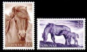Faroe Islands #254-255 Fa250-251 MNH CV$6.60