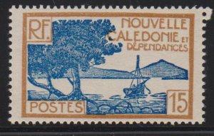 New Caledonia 141 mint hinged