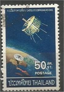 THAILAND, 1968, used 50s, Syncom Satellite. Scott 498
