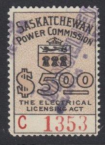 Canada, Saskatchewan (Revenue), van Dam SE26, used