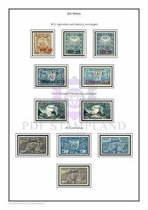 SOVIET UNION USSR RUSSIA 1857-2005 (4 albums) PDF (DIGITAL)  STAMP ALBUM PAGES