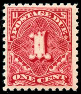 momen: US Stamps #J52 Carmine Lake Mint OG NH VF PF Cert