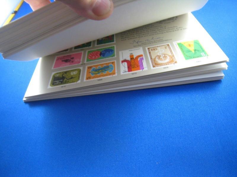 UNITED NATIONS SOUVENIR CARDS - SCOTT #SC8 - SC36  -  1975-1989