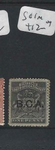 BRITISH CENTRAL AFRICA  (P0207B)  ARMS 1D     SG 1   MOG