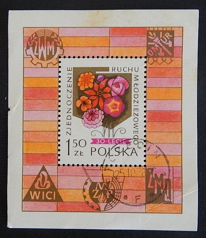 Poland, Block, 1.5 ZL,  (2340-T)