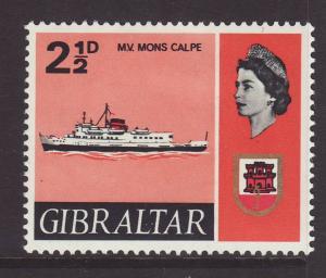 1967 Gibraltar 2½d Mons Calpe Mint